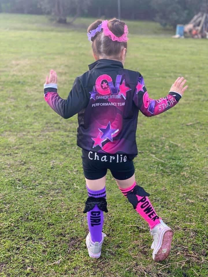 Uniforms image of Charlie dancer at CV Dance Studio