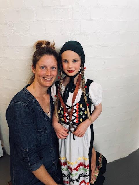 Girl dancer at a Musical theatre class located at CV Central Victoria Dance Studio in Bendigo