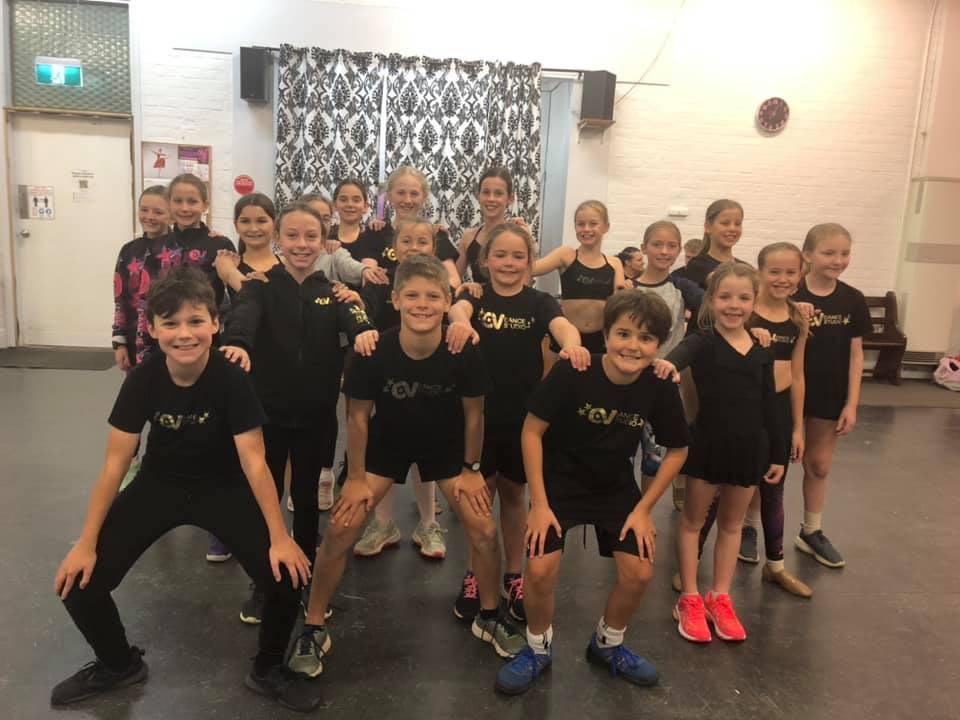 CV Dance Studio 9-12yrs Musical Theatre Class Bendigo