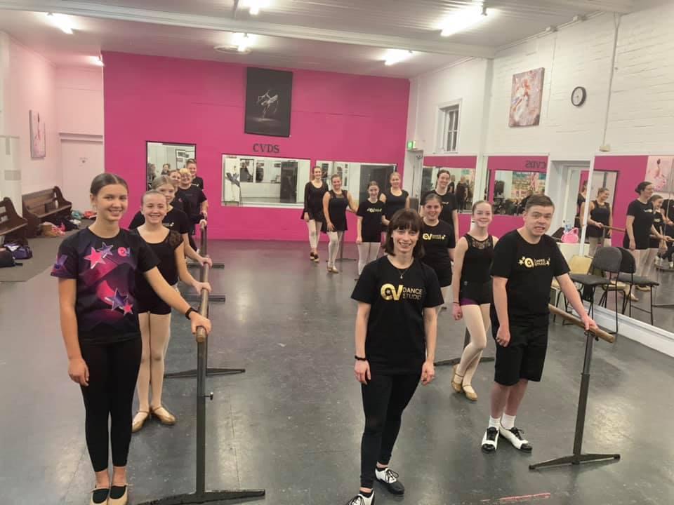 CV Dance Studio Monday night Open Tap class with Miss Kira Bendigo