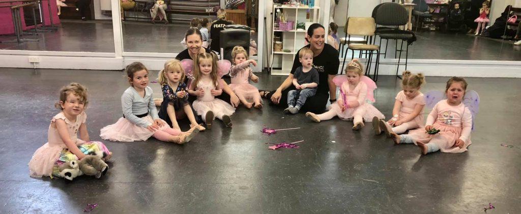 CV Dance Studio Fairy Ballet class Bendigo
