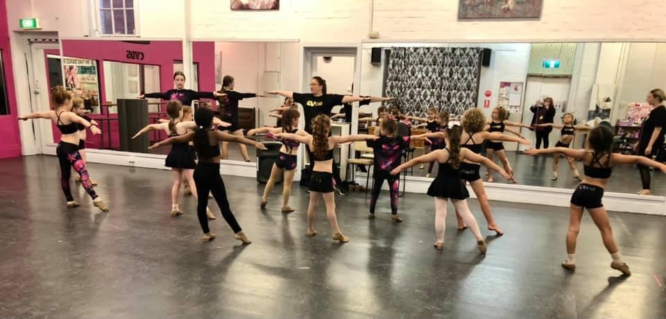 CV Dance Studio 6-8yrs Jazz Class Bendigo